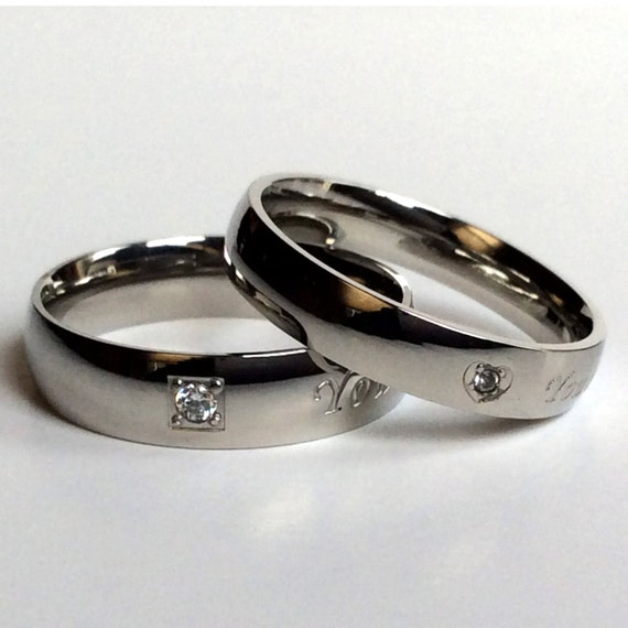 Custom Rings Personalized Rings Couples Rings Couples Ring