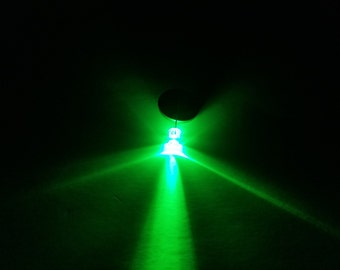 LED Throwie Kit - Green Only - 25 Pack