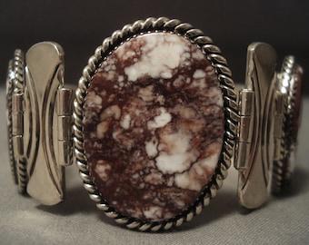 The Best Vintage Navajo Wildhorse Bracelet By A Very Famous Artist