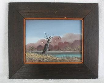 Award Winning Artist William Ward Moseley Framed Painting on Canvas Reseller US