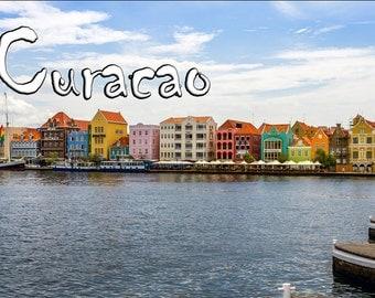 Curacao Travel Fridge Magnet (PMD10004)