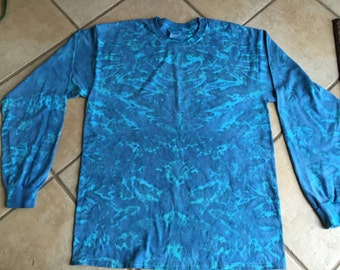 Large Long sleeve faded crinkle