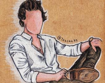 7. Harry Styles Postcard