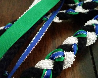 Handfasting cord, custom made,  alternative wedding, pagan wedding,  tie the knot, celtic wedding,