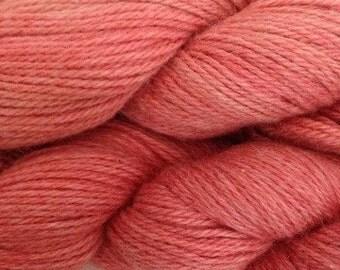 Manos del Uruguay, Manos Serena Yarn, Color-Flamingo #2144, fiber-baby alpaca and prima cotton- weight-sport to DK