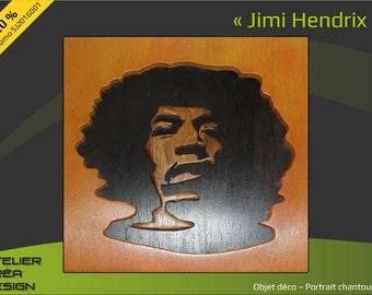 """Provencal portrait """"Jimi Hendrix"""""""