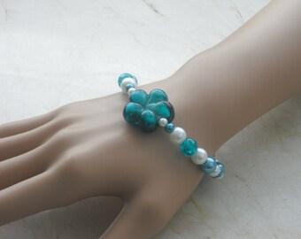 Bracelet - bracelets - bracelet - jewelry - beads bracelet - elastic bracelet - jewelry - jewelry - bracelets - handmade -.