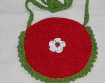 Children bag - pouches - crochet bag - bag - wool - handmade