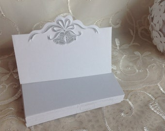 Wedding Place Cards. Food tent cards. Set of 70