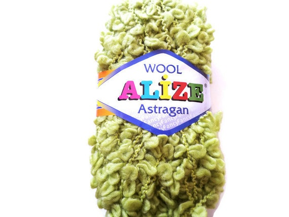 Astrakhan Bulky yarn Fancy yarn art yarn wool yarn