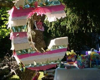 Letter & Number Pinatas Made to Order