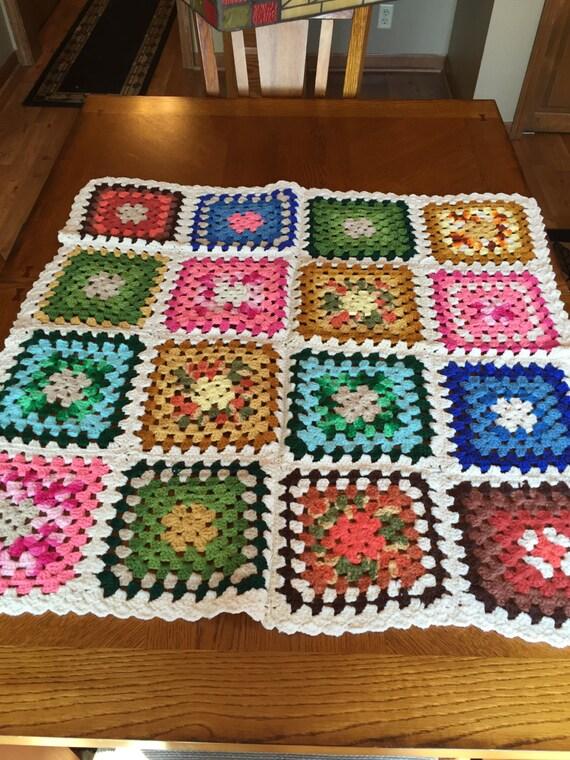 Free Crochet Lap Quilt Patterns : Lap quilt Baby Afghan Lap Afghan Crocheted lap quilt