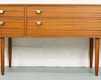 Mid-Century Teak Chest of Drawers by Avalon