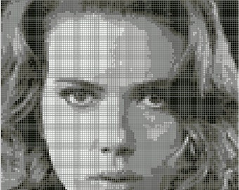 Black Widow Cross Stitch Pattern