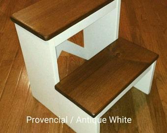 Unique Childs Wooden Step Stool