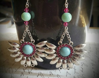 Summer blossom earrings