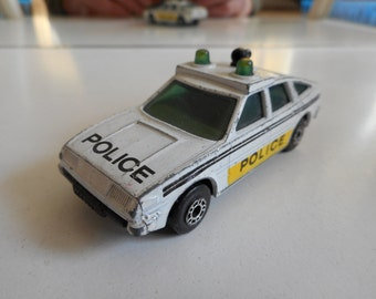 Matchbox Rover 3500 Police in White
