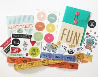 Funland Embellishment Kit