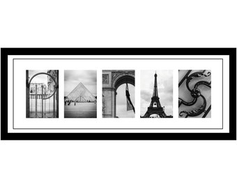 Paris alphabet photography print, letter art, unique travel gift