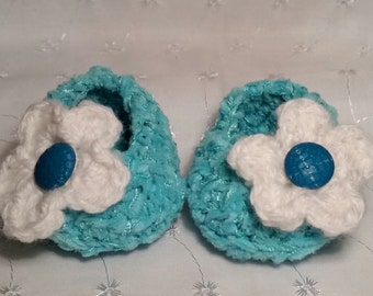 Shoes, Baby Shoes, Baby Booties, Baby girl shoes, Flower Shoes