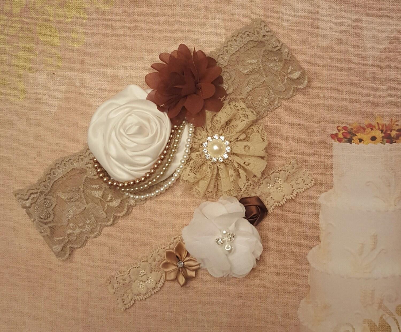 beige and brown wedding - photo #18