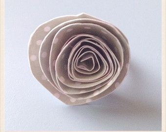 Paper vintage style ring