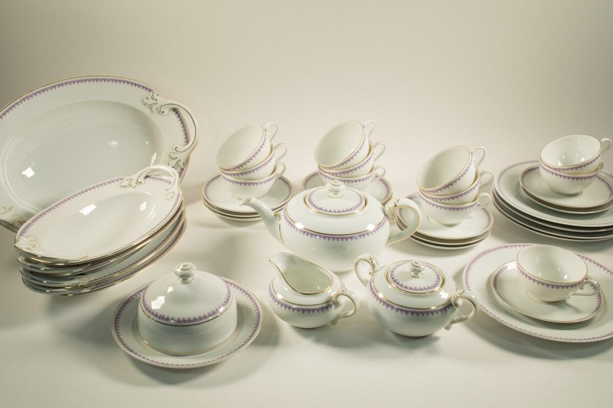 rosenthal bavaria tea service dinner service 38 pieces. Black Bedroom Furniture Sets. Home Design Ideas