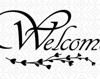 Welcome Decorative Decal