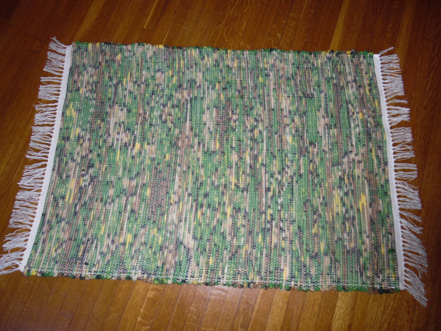 handwoven rug john deere licensed fleece throw rug handmade