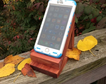 Wooden Cell Phone Holder Stand Prop