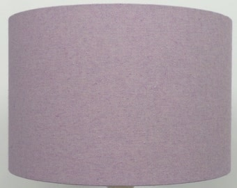 Purple Table Lamp Shades: Nova Lavender(light Purple) Linen Effect Lampshade, Table Lamp, Pendant,  Ceiling Shade,Lighting