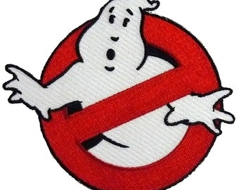 Ghostbuster Movie Embroidered Uniform Logo Glow In The Dark Patch Halloween Costume Embroidery Easy Iron/Sew On Free Shipping