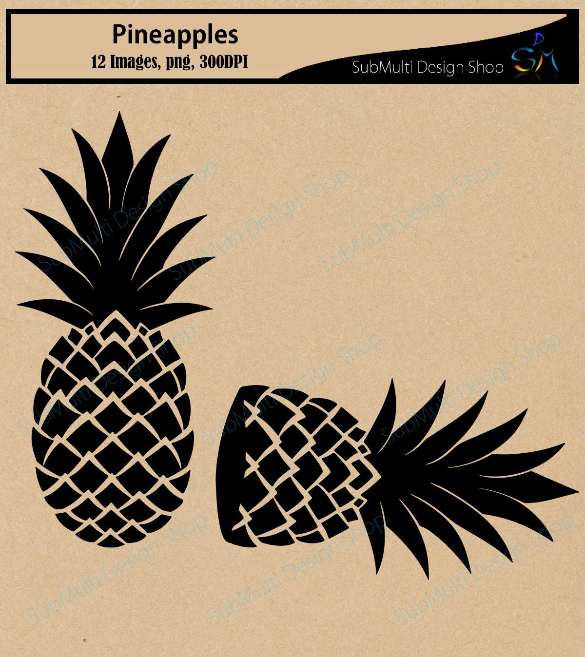 pineapple silhouette png. pineapple silhouette svg / fruit vector pine apple file svg png high quality scrapbooking c