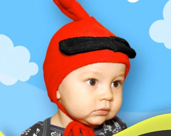 Angry Hats - Red bird baby