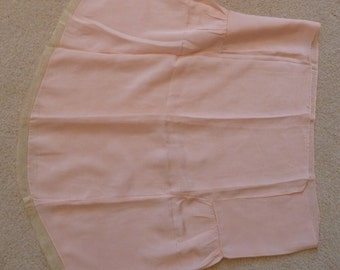 Vintage Fabric Piece - 1910's - Pink - Used on undergarment or dress?