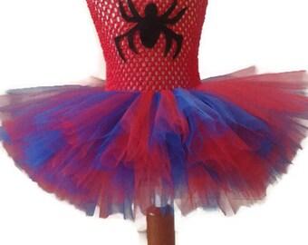 Spiderman tutu dress
