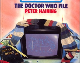 Doctor Who The Doctor Who File Softcover by Peter Haining