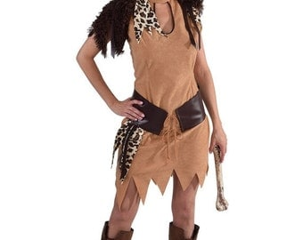 Summer Sale Neanderthal Cave Girl Costume  , sizes 6 -22