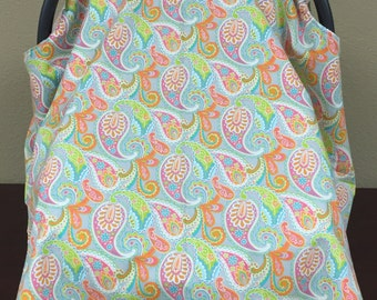 Paisley Car Seat Cover