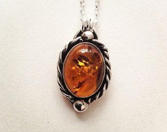Odyssey - Amber Necklace