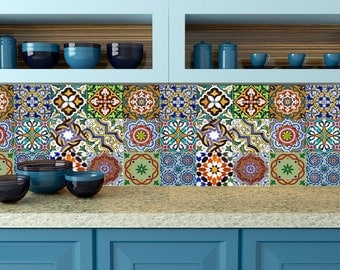 mexican tile decal | etsy