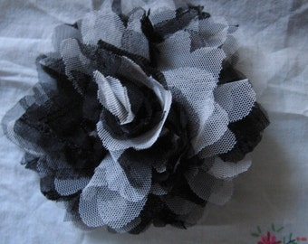 Free Shipping - Magnetic Flower from Tulle with Sequins, Unique Removable  Decor for Dress/Sweater/Jacket, Big Flower Dress Accessory