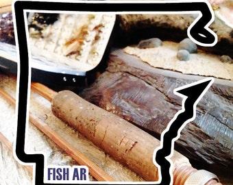 Fish Arkansas Sticker - Idahook Series