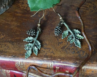 "Earring ""autumn leaves"""