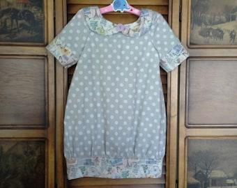 Violette Field Threads Pattern, Bubble Dress, childs dress,