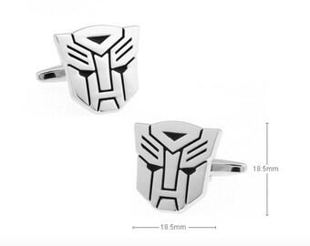 Cufflinks, Transformers, Transformers Cufflinks, Cuff Links, Creative gift