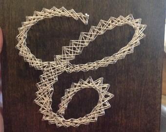 "Initial String Art-8""x8"""