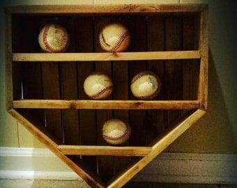 Baseball Wall Display Organizer