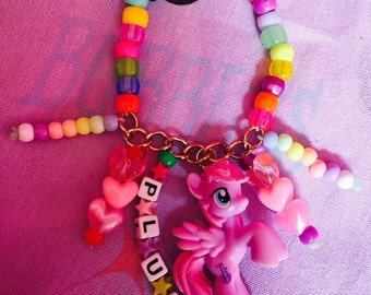 Kawaii My little pony kandi single bracelet