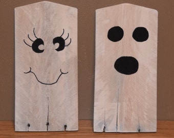 Ghosts - Made from Reclaimed Pallets